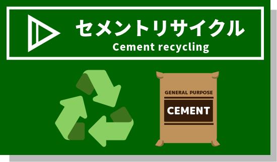 セメントリサイクル