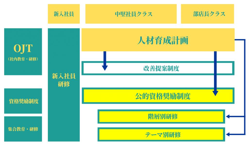 教育・研修体系図